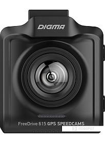 Автомобильный видеорегистратор Digma FreeDrive 615 GPS Speedcams