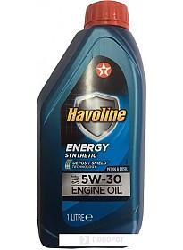 Моторное масло Texaco Havoline Energy 5W-30 1л