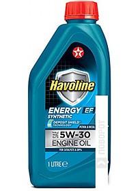 Моторное масло Texaco Havoline Energy EF 5W-30 1л