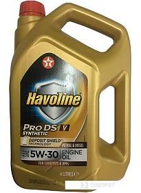 Моторное масло Texaco Havoline ProDS V 5W-30 4л