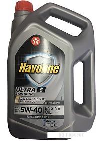Моторное масло Texaco Havoline Ultra S 5W-40 4л