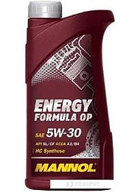 Моторное масло Mannol ENERGY FORMULA OP 5W-30 1л