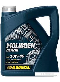 Моторное масло Mannol MOLIBDEN BENZIN 10W-40 4л
