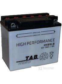 Мотоциклетный аккумулятор TAB YB16CL-B (19 А·ч)