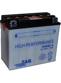 Мотоциклетный аккумулятор TAB YB18L-A (18 А·ч)