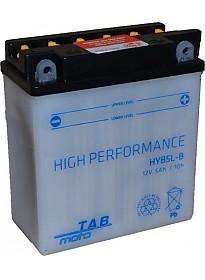 Мотоциклетный аккумулятор TAB YB5L-B (5 А·ч)