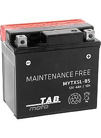 Мотоциклетный аккумулятор TAB YTX5L-BS (4 А·ч)