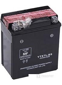 Мотоциклетный аккумулятор TAB YTX7L-BS (6 А·ч)
