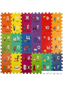 Коврик-пазл Играем вместе Три кота FS-ABC-3CATS