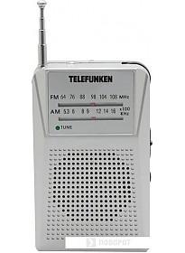 Радиоприемник TELEFUNKEN TF-1641 (серебристый)