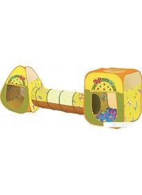 Игровая палатка Ching-ching Дом Бабочки (конус+квадрат+туннель)