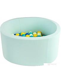 Сухой бассейн Misioo 90x30 200 шаров (мятный)