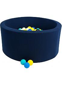 Сухой бассейн Misioo 90x30 200 шаров (темно-синий)