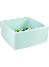 Сухой бассейн Misioo 90x90x40 200 шаров (мятный)