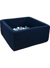 Сухой бассейн Misioo 90x90x40 200 шаров (темно-синий)