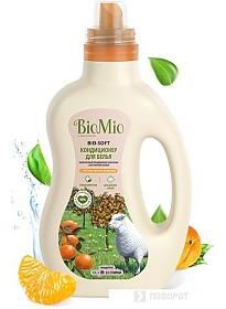 Кондиционер для белья BioMio BIO-Soft экологичный мандарин концентрат 1 л