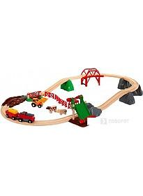 Набор железной дороги BRIO Сельское поселение с поездом 33984