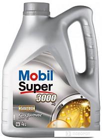 Моторное масло Mobil 5W-40 Super 3000 X1 4л