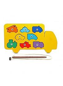 Магнитная рыбалка Smile Decor Машины Р020