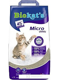 Наполнитель для туалета Biokat's Micro Classic 7 л