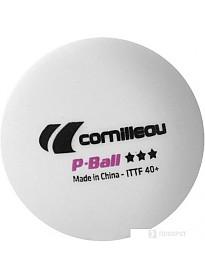 Мяч для настольного тенниса Cornilleau P-Ball (3 звезды, 3 шт.)