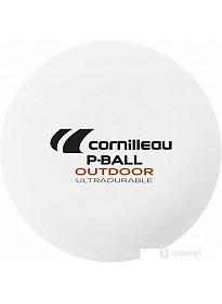 Мяч для настольного тенниса Cornilleau P-Ball Outdoor Ultradurable (без звезд, 6 шт.)