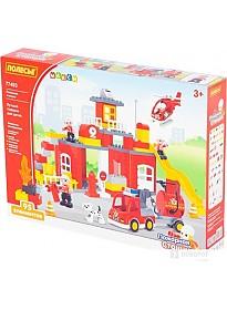 Конструктор Полесье 77493 Пожарная станция