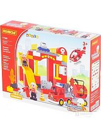 Конструктор Полесье 77509 Пожарная станция