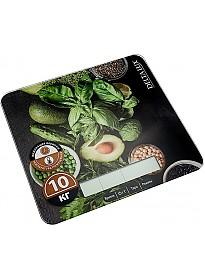 Кухонные весы Delta Lux DE-005KE (салатный микс)