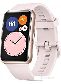 Умные часы Huawei Watch FIT (розовая сакура)