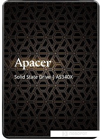 SSD Apacer AS340X 480GB AP480GAS340XC-1