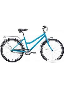 Велосипед Forward Barcelona 26 1.0 2021 (голубой)