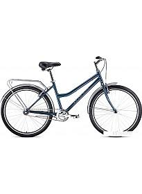 Велосипед Forward Barcelona 26 1.0 2021 (синий)