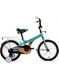 Детский велосипед Forward Crocky 16 2021 (голубой)