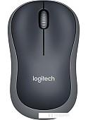 Мышь Logitech M185 (черный/серый)